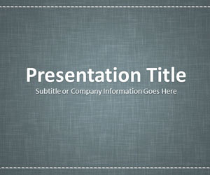 Linen Gray PowerPoint Template | 232654 | Scoop.it
