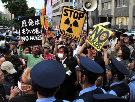 Japon.... Des milliers d'antinucléaires manifestent à Tokyo   Des 4 coins du monde   Scoop.it