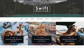 Swift Clean | Blogger themes | Scoop.it