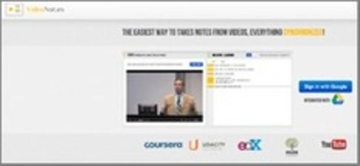 Regarder une vidéo, prendre des notes, synchroniser le tout : c'est fait ! | TIC et TICE mais... en français | Scoop.it