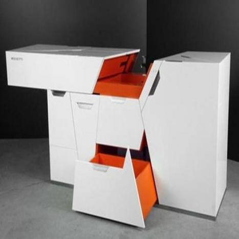 Modern Compact and Minimalistic Kitchen by Boxetti | Architecture and Design Magazine | Scoop.it