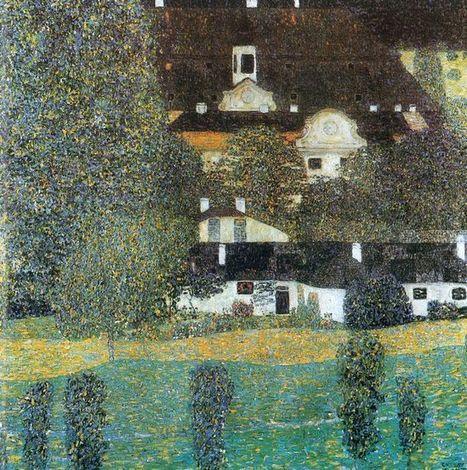 Schloss Kammer est Attersee Ii 1909 - Pintura al óleo | Landscapes oil paintings | Scoop.it