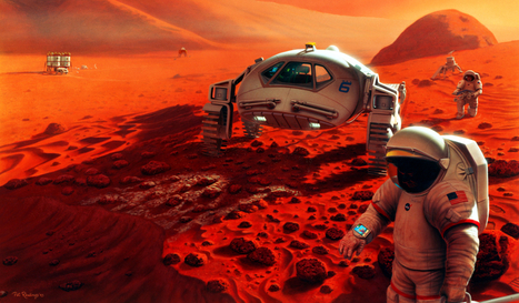Buzz Aldrin Says Mars Is Not A Place For Tourists - io9 | Digital-News on Scoop.it today | Scoop.it