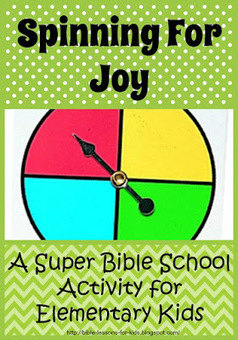 Bible Lessons for Kids: Spinning For Joy: A Super Bible School Activity for Elementary Kids | Children's Ministry Ideas | Scoop.it