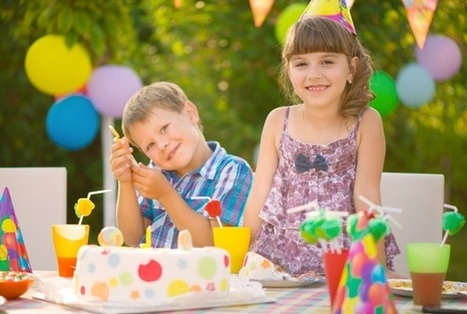 """Yards"" of Fun: Decorating Ideas for Backyard Parties for Children 