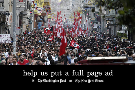 Turkish Protesters Are Crowdfunding a Full-Page Ad in The New York Times | Crowdfunding World | Scoop.it