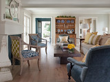 1 Chair + 2 Fabric Patterns = 1 Fabulous Look   Designing Interiors   Scoop.it