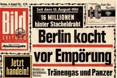 Los diarios recuerdan cómo contaron la construcción del Muro de Berlín | Medios | elmundo.es | El muro de Berlín | Scoop.it