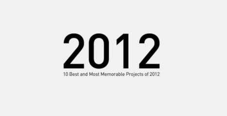 10 Best and Most Memorable Projects of 2012 | Transmedia Landscapes | Scoop.it