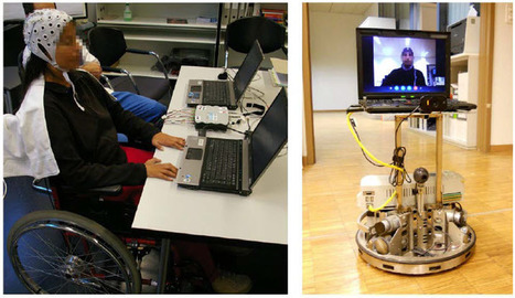 Disabled people remotely pilot robot in another country with their thoughts | KurzweilAI | Science And Wonder | Scoop.it