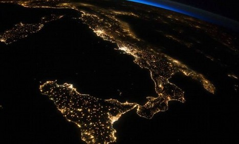 Incredible image of Italy at night from International Space Station | Travel Bites &... News | Scoop.it