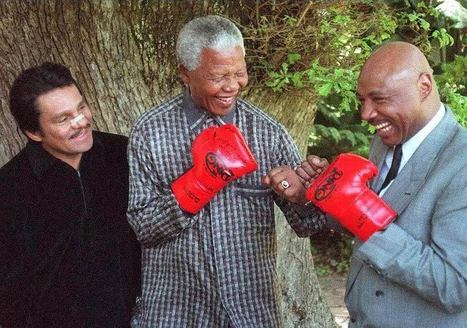Mandela the boxer inspires Soweto gym-goers - Voices of Africa | Resilient and Adaptation. | Scoop.it