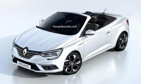 Renault Megane Cabriolet : elle pourrait arriver bientôt | MonAutoNews | Scoop.it
