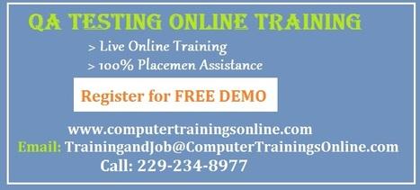 Software QA Testing Online Training in Atlanta | Software QA Testing Online Training | Scoop.it