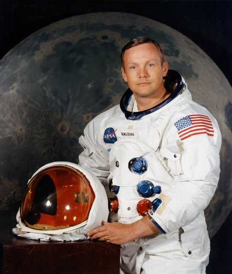 International Hero, Astronaut Neil Armstrong 1st Man To Walk on Another World Dead at 82 | The Blog's Revue by OlivierSC | Scoop.it
