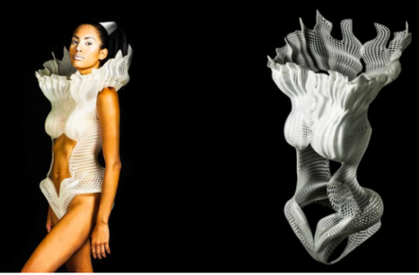 3D-Printed Swimsuit makes a Splash in Fashion | Technology in Business Today | Scoop.it