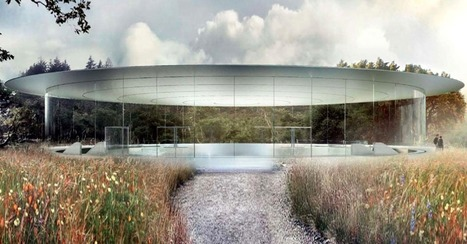 "Apple's Spaceship Campus Will Have a Flying Saucer Auditorium | L'impresa ""mobile"" 