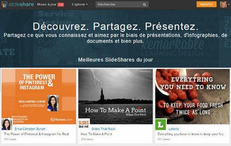 4 fonctionnalités de SlideShare deviennent gratuites pour tous | outils du web | Scoop.it