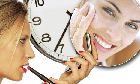 How to keep your skin tip-top around the clock | dermatology | Scoop.it