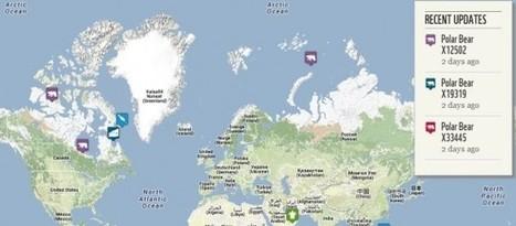 4 mapas para realizar seguimientos de animales en distintas zonas del planeta | Edu-Recursos 2.0 | Scoop.it
