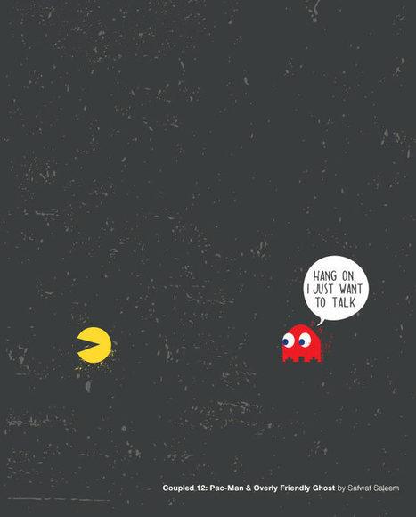 Minimal Poster: Çiftler | Minimal Art: Sadelik, Zeka ve Mizah. | Scoop.it