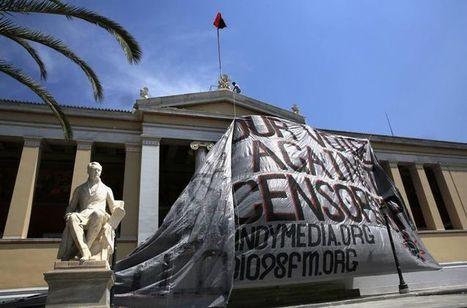 A Athènes, la lutte des crasses | Union Européenne, une construction dans la tourmente | Scoop.it