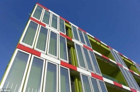 Green Innovation: First Bio-building Powered by Algae Opens in Hamburg | sustainable architecture | Scoop.it