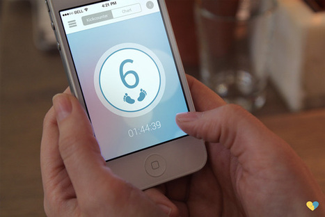 Pregnancy Tracker Empowers Women To Take Control Of Health From Home - PSFK   Social virtual life   Scoop.it