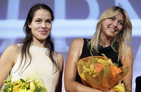 Maria Sharapova et Ana Ivanovic en match d'exhibition à Milan (Photos) | Tennis Feminin | Tennis | Scoop.it