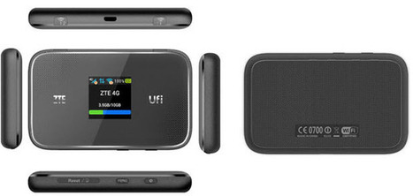 ZTE UFi MF970 LTE CAT6 Mobile Hotspot | 4G Mobile Zone | Scoop.it