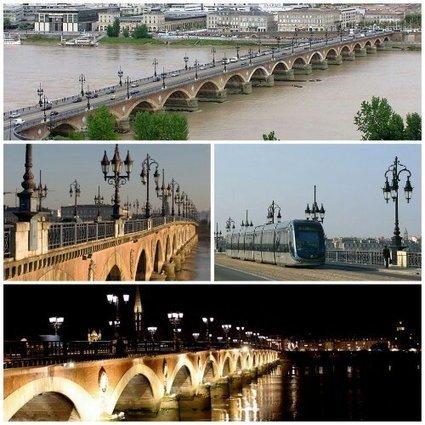 Le pont de pierre à Bordeaux | Revue de Web par ClC | Scoop.it