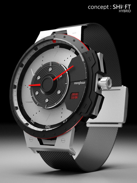 Shift Hybrid Watch by Menghsun Wu | Art, Design & Technology | Scoop.it
