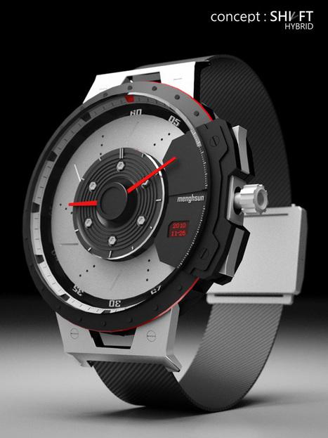 Shift Hybrid Watch by Menghsun Wu   Art, Design & Technology   Scoop.it