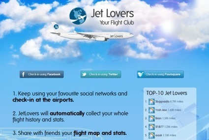JetLovers helps you keep track of your flight history the easy way | Allplane: Airlines Strategy & Marketing | Scoop.it