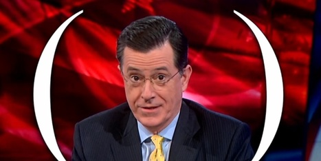 A Famous Columnist Has Trouble Defining Racism. Colbert Eats Him For Dinner. | Film and Television | Scoop.it
