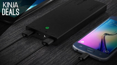 This 15,000mAh USB Battery is Only $22, and Includes a Quick Charge 2.0 Port | Geek in your face | Scoop.it