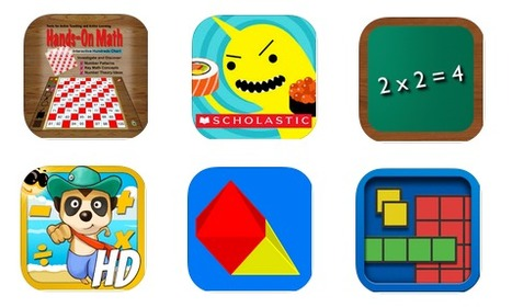 6 Good iPad Apps to Enhance Kids Mathematical Thinking ~ Educational Technology and Mobile Learning | Library Aid | Scoop.it