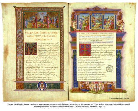 Explore 5,300 Rare Manuscripts Digitized by the Vatican: From The Iliad & Aeneid, to Japanese & Aztec Illustrations | IELTS, ESP, EAP and CALL | Scoop.it