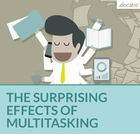 Debunking the Myth of Multitasking at the Office | On education | Scoop.it