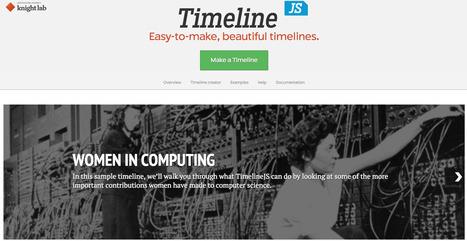 """Women in Computing"", using Timeline JS3 | Big Data - Visual Analytics | Scoop.it"