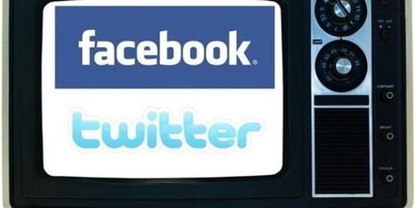 La social TV ou quand les réseaux sociaux prennent d'assaut le petit écran | TV - WEB | Scoop.it