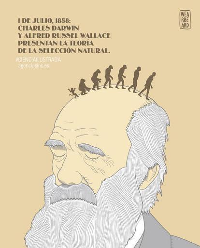 Darwin y Wallace presentan los principios de la teoría de la evolución por selección natural | Aprendiendo a Distancia | Scoop.it