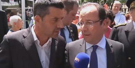 Hollande dans les Pyrénées auprès des sinistrés des inondations | Vallée d'Aure - Pyrénées | Scoop.it
