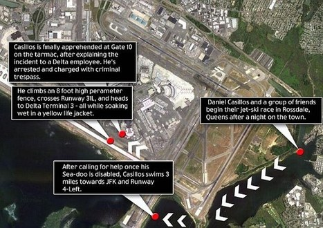 Stranded jet-skier waltzes through $100m security system surrounding JFK airport   New York City Chronicles   Scoop.it