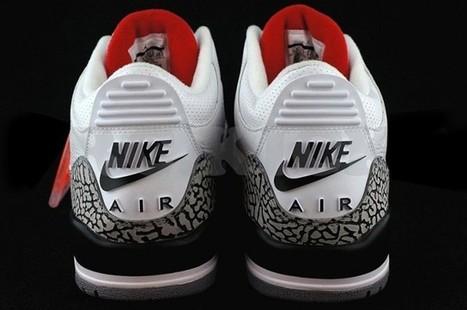 Restock de la Air Jordan III White Cement Retro 88 - oneMesh | onemesh | Scoop.it