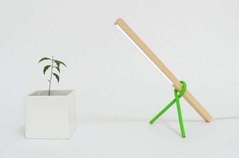 1x1 lamp, lampe de bureau minimaliste | Minimalistdesign | Scoop.it