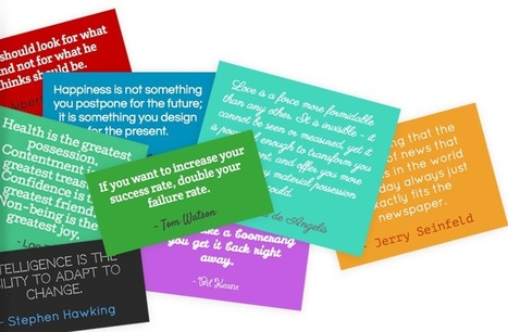 Comment animer un compte Pinterest avec du texte ? | Time to Learn | Scoop.it