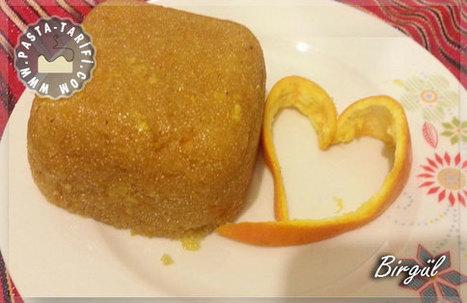 Portakallı İrmik Helvası | Tarifi | Tatlı ve Kurabiye Tarifleri | Scoop.it