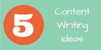 5 More Content Writing Ideas - Malhar Barai | Quick Social Media | Scoop.it