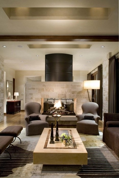 16 Fabulous Earth Tones Living Room Designs - Interior Design Ideas, Home Designs, Bedroom, Living Room Designs | Interior Decor and Design Ideas | Scoop.it